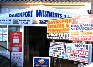 [sign Davenport Estates - property sales, rentals & management]